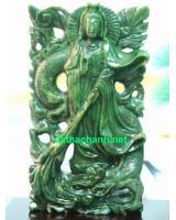 Tượng Phật Quan Âm Ngọc Bích NNBT72