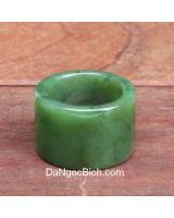 Nhẫn đá ngọc bích NBN43