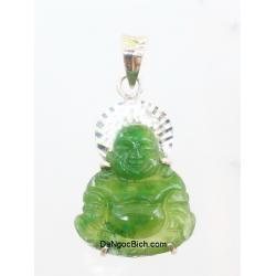 Phật Di Lạc đá ngọc bích NBP116