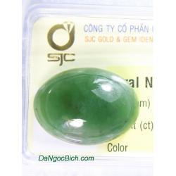 Viên đá ngọc bích nephrite NBKD27.4