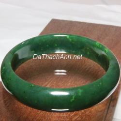 Vòng tay ngọc bích nephrite jade NBV4