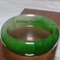 Vòng ngọc bích nephrite jade NBV010