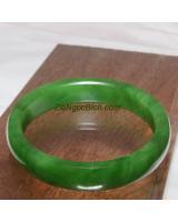 Vòng ngọc bích nephrite jade NBV8