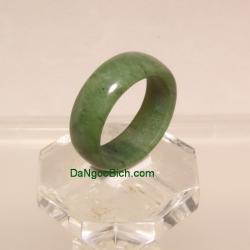 Nhẫn ngọc bích nephrite size17.5 NBN25