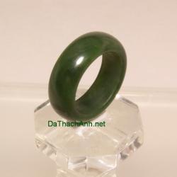 Nhẫn ngọc bích nephrite size18.5 NBN29