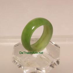 Nhẫn ngọc bích nephrite size17 NBN31