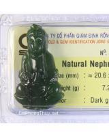 Phật Quan Âm đá ngọc bích NBP7.28