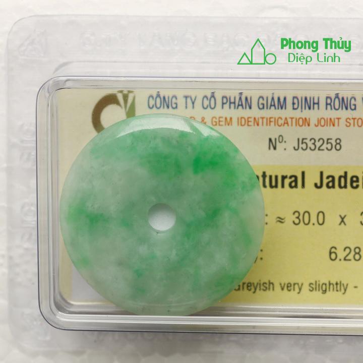 Đồng điếu ngọc bội cẩm thạch J53258