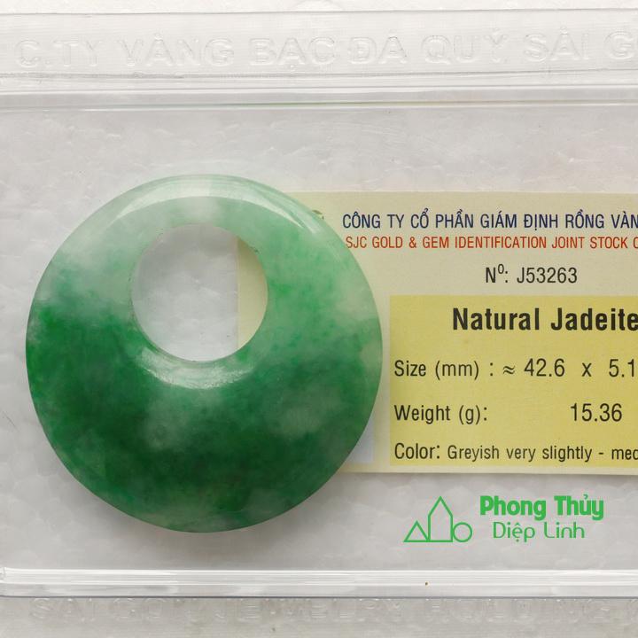 Đồng điếu ngọc bội cẩm thạch J53263